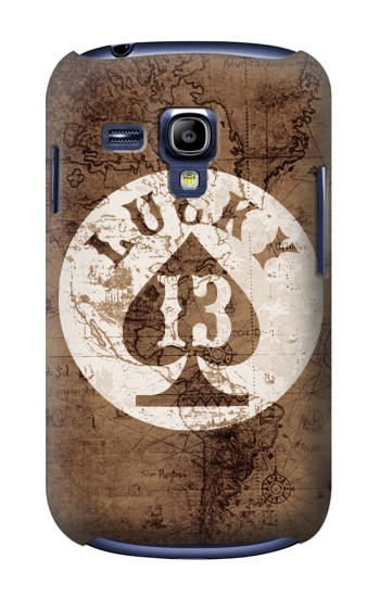 Printed Lucky 13 Old Map Samsung Galaxy S3 mini Case