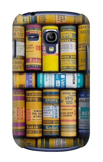Printed MM Film Camera Samsung Galaxy S3 mini Case