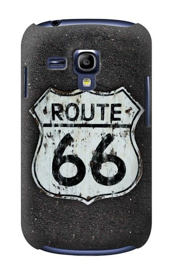 Printed Route 66 Sign Samsung Galaxy S3 mini Case