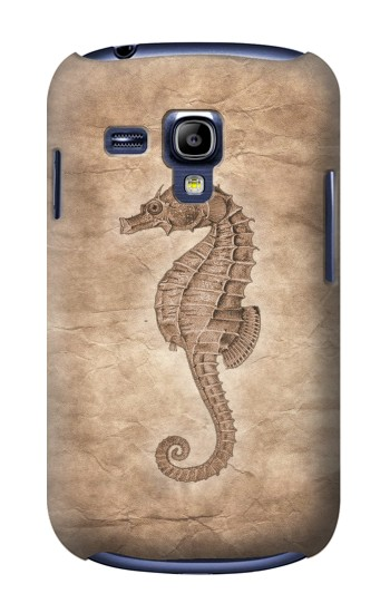 Printed Seahorse Old Paper Samsung Galaxy S3 mini Case