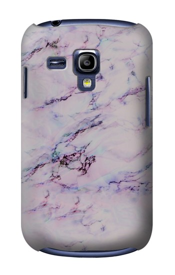 Printed Seamless Pink Marble Samsung Galaxy S3 mini Case