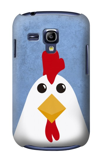 Printed Chicken Cartoon Samsung Galaxy S3 mini Case