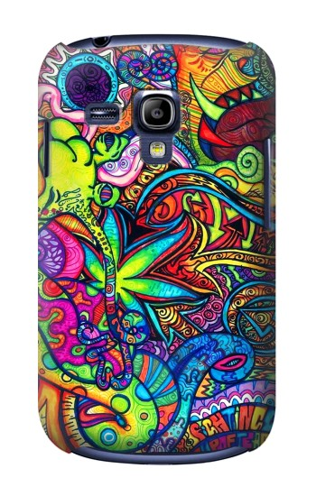 Printed Colorful Art Pattern Samsung Galaxy S3 mini Case