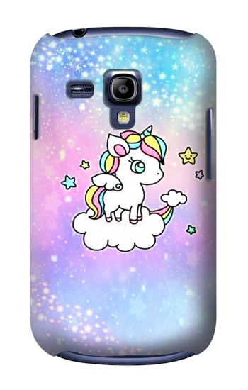 Printed Cute Unicorn Cartoon Samsung Galaxy S3 mini Case