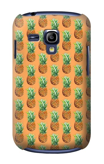Printed Pineapple Pattern Samsung Galaxy S3 mini Case