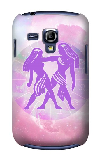 Printed Zodiac Gemini Samsung Galaxy S3 mini Case