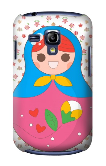Printed Russian Doll Matryoshka Samsung Galaxy S3 mini Case
