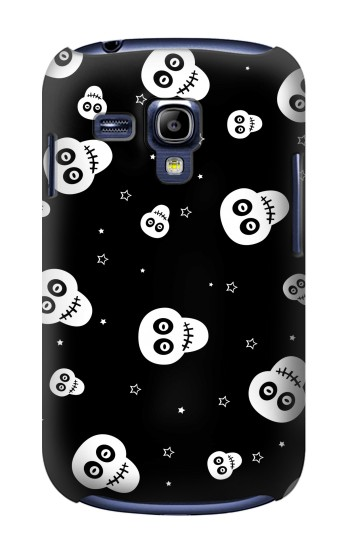Printed Skull Pattern Samsung Galaxy S3 mini Case