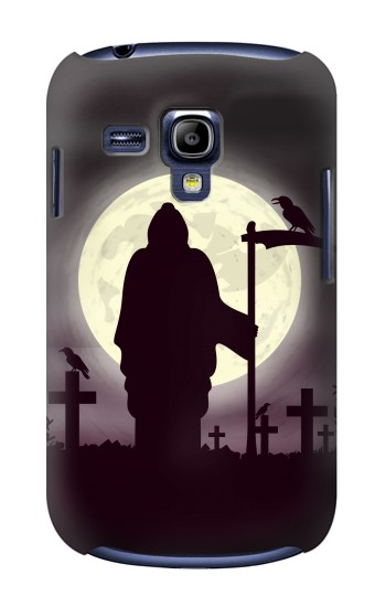 Printed Night Moon Cemetery Samsung Galaxy S3 mini Case