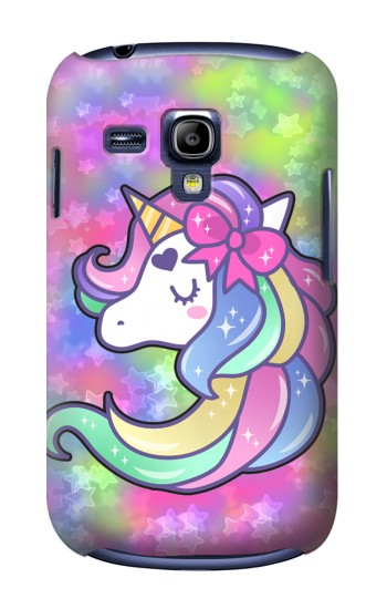Printed Pastel Unicorn Samsung Galaxy S3 mini Case