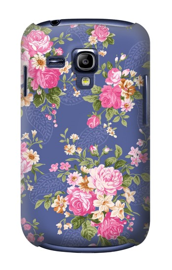 Printed Vintage Flower Pattern Samsung Galaxy S3 mini Case
