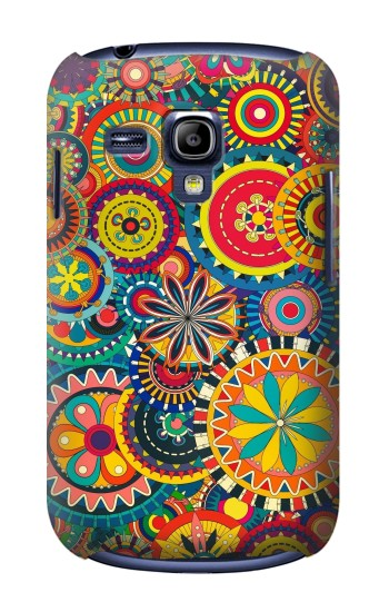 Printed Colorful Pattern Samsung Galaxy S3 mini Case