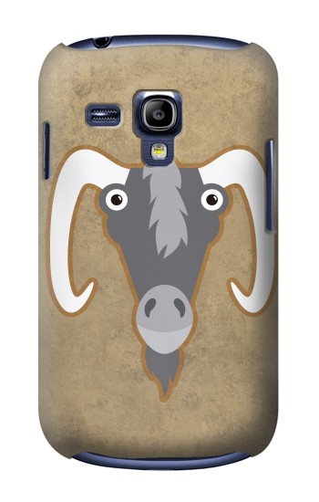 Printed Goat Cartoon Samsung Galaxy S3 mini Case
