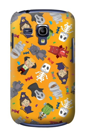 Printed Cute Halloween Cartoon Pattern Samsung Galaxy S3 mini Case