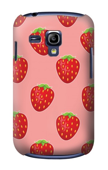 Printed Strawberry Fruit Pattern Samsung Galaxy S3 mini Case