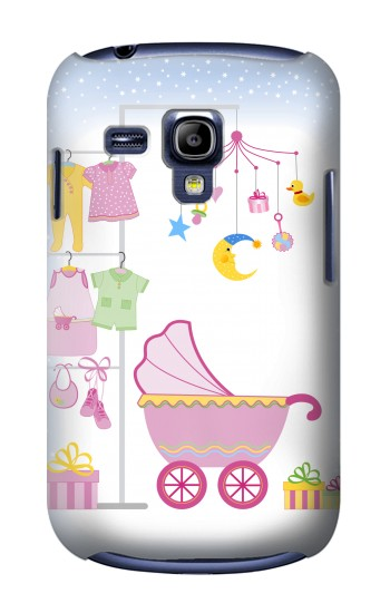 Printed Baby Supplies Samsung Galaxy S3 mini Case