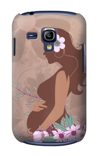 Printed Pregnant Mommy Baby Samsung Galaxy S3 mini Case
