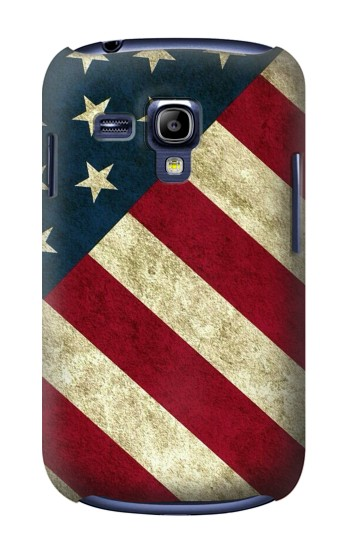 Printed US National Flag Samsung Galaxy S3 mini Case