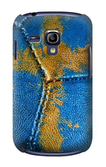 Printed Sweden Flag Vintage Football 2018 Samsung Galaxy S3 mini Case