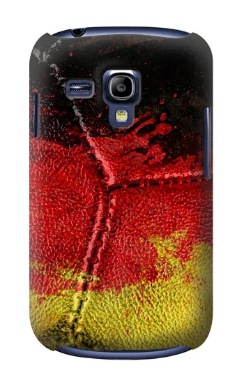 Printed Germany Flag Vintage Football 2018 Samsung Galaxy S3 mini Case