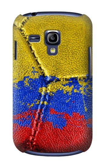 Printed Colombia Flag Vintage Football 2018 Samsung Galaxy S3 mini Case