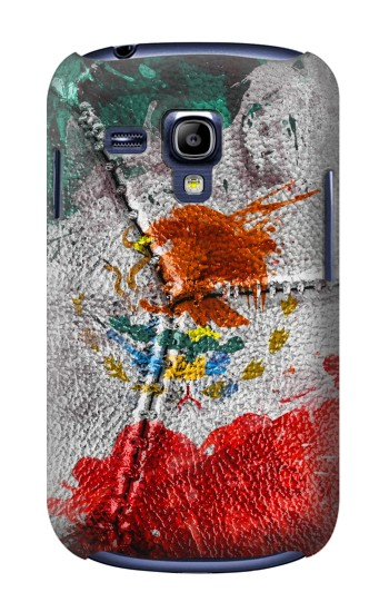 Printed Mexico Flag Vinatage Foorball 2018 Samsung Galaxy S3 mini Case