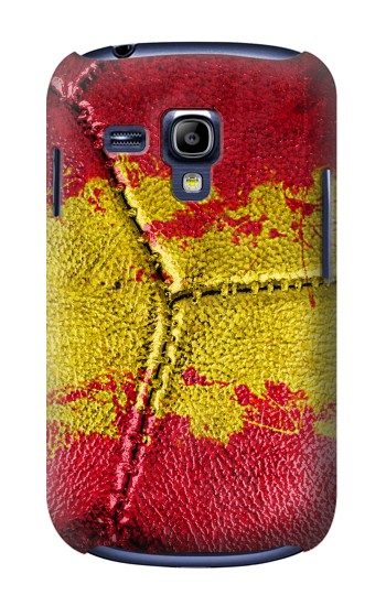 Printed Spain Flag Vintage Football 2018 Samsung Galaxy S3 mini Case