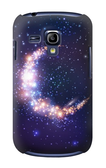 Printed Crescent Moon Galaxy Samsung Galaxy S3 mini Case