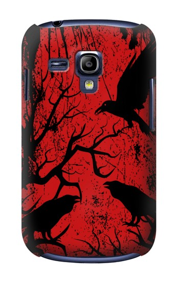Printed Crow Black Tree Samsung Galaxy S3 mini Case
