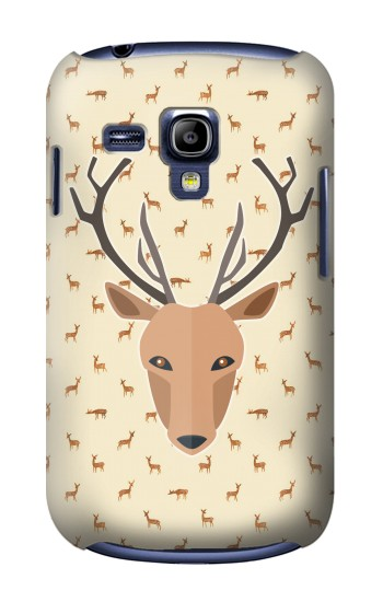 Printed Deer Pattern Samsung Galaxy S3 mini Case