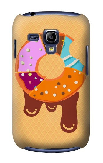 Printed Yummy Donut Samsung Galaxy S3 mini Case