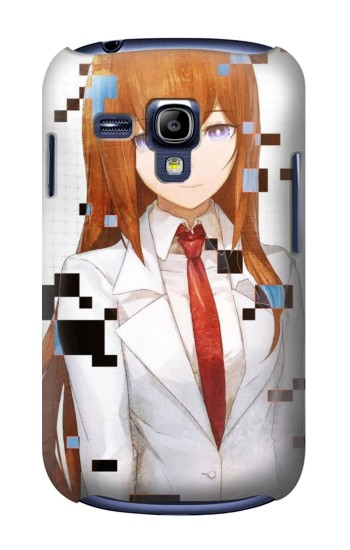 Printed Stein Gate Amadeus Kurisu Makise Samsung Galaxy S3 mini Case