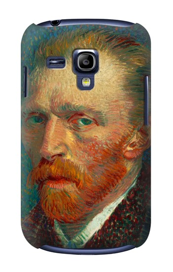 Printed Vincent Van Gogh Self Portrait Samsung Galaxy S3 mini Case