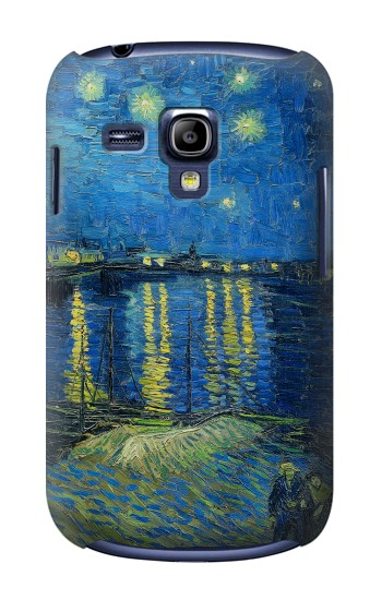 Printed Van Gogh Starry Night Over Rhone Samsung Galaxy S3 mini Case