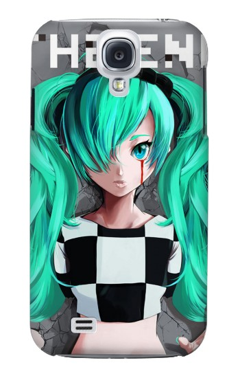 Printed hatsune miku The End Samsung Galaxy S4 mini Case