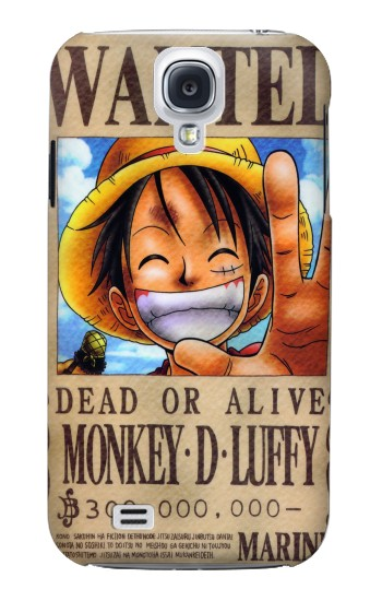 Printed One Piece Monkey D Luffy Wanted Poster Samsung Galaxy S4 mini Case