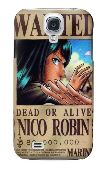 Printed One Piece Nico Robin Wanted Poster Samsung Galaxy S4 mini Case