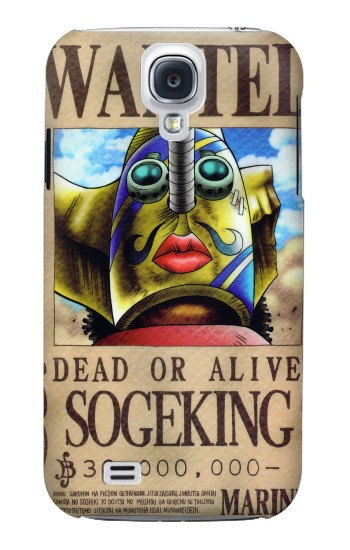 Printed One Piece SOGEKING Wanted Poster Samsung Galaxy S4 mini Case