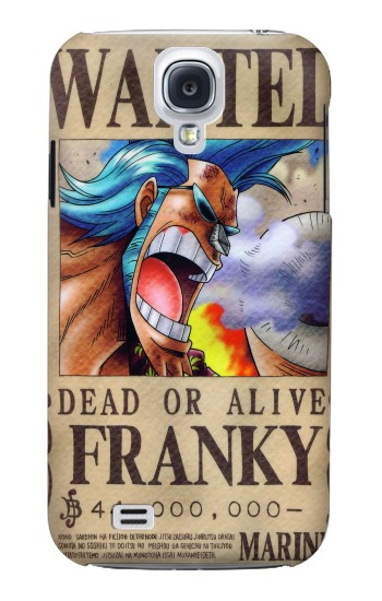 Printed One Piece FRANKY Wanted Poster Samsung Galaxy S4 mini Case