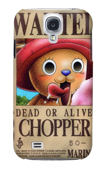 Printed One Piece CHOPPER Wanted Poster Samsung Galaxy S4 mini Case