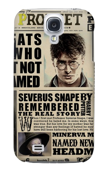 Printed Harry Potter Daily Prophet Samsung Galaxy S4 mini Case