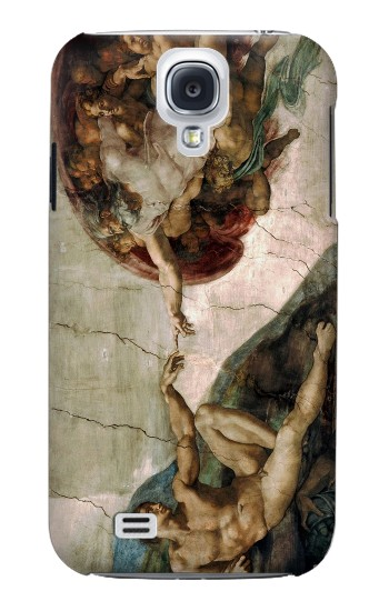 Printed Michelangelo The creation of Adam Samsung Galaxy S4 mini Case