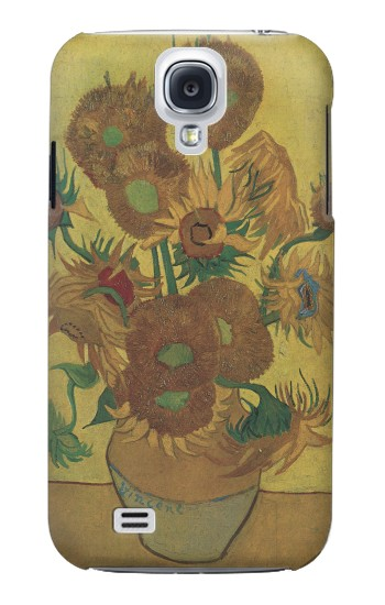 Printed Van Gogh Vase Fifteen Sunflowers Samsung Galaxy S4 mini Case