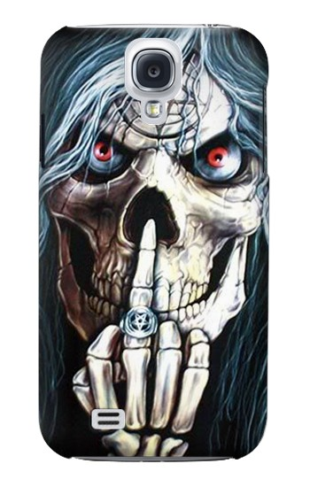 Printed Skull Pentagram Samsung Galaxy S4 mini Case