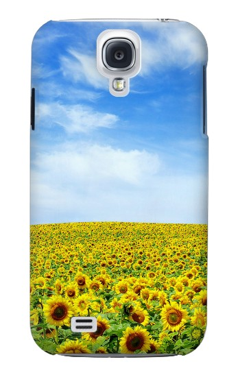 Printed Sunflower Samsung Galaxy S4 mini Case