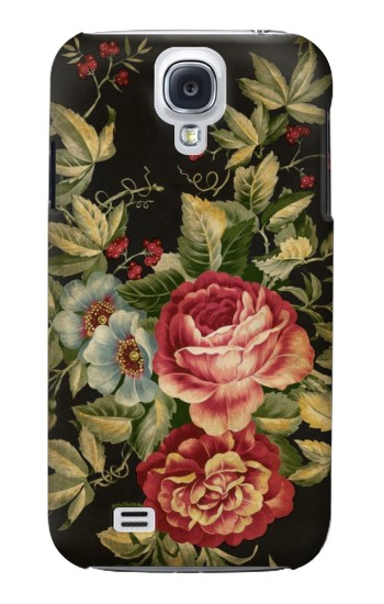 Printed Vintage Antique Roses Samsung Galaxy S4 mini Case