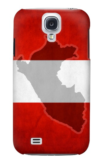 Printed Peru Flag Samsung Galaxy S4 mini Case