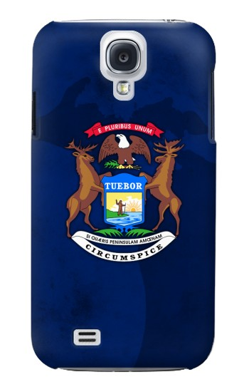 Printed State of Michigan Flag Samsung Galaxy S4 mini Case