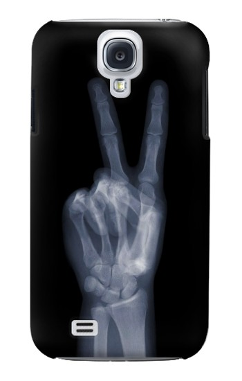Printed X-ray Peace Finger Samsung Galaxy S4 mini Case