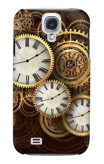 Printed Gold Clock Live Samsung Galaxy S4 mini Case